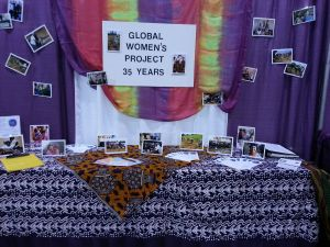 GWP booth at Annual Conference, 2013
