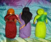 dolls back