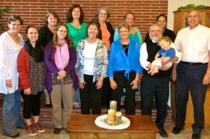 GWP Steering Committee members met with partner project  Growing Grounds in September in Wabash, IN, USA.