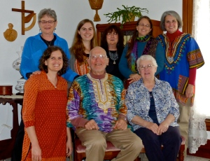 GWP Steering Committee with Marlene & Lyle Neher of the Ivester COB